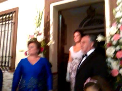 Sevillanas Dama de honor 2014 Coral Rocio