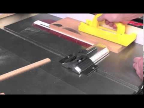 Infinity Cutting Tools Table Saw Thin Stock Rip Guide Youtube