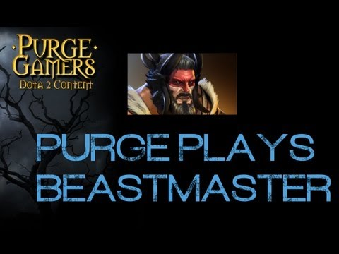 Dota 2 LAN Purge plays Beastmaster