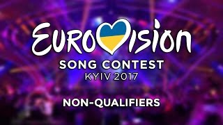 Eurovision 2017 - Non-qualifiers
