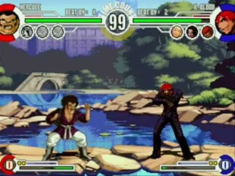 Homer Simpson, Peter Griffin, Mr. Satan & Steven Seagal vs K-Blood, Shadow, Dark Kyo & Dark Iori Video