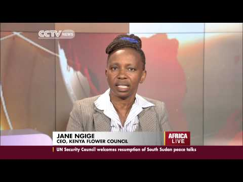 Jane Ngige's interview on Kenya's flower industry