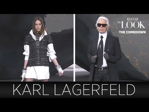 The Comedown with Karl Lagerfeld | Harper's Bazaar The Look S2.E8