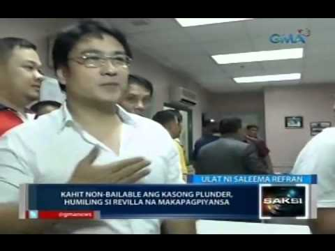 Saksi: Sen. Bong Revilla, nakakulong na sa PNP Custodial Center
