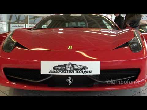 FERRARI 458 CAR ALARM (FULL REVIEW, ENGINE, INTERIOR,EXTERIOR!!)