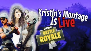 FORTNITE // Live Stream // Gamer Girl // PS4 Console Player