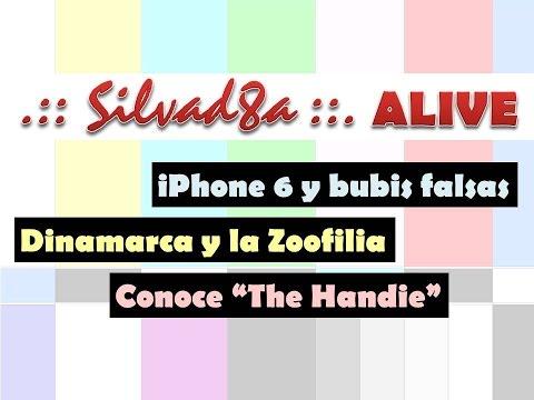 Silviad8a ALIVE - VIERNES SEXOSO: iPhone 6 y bubis falsas, Dinamarca y la zoofilia y conoce