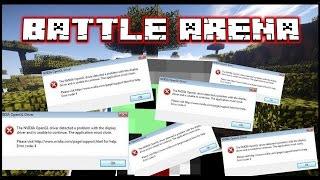 STOP THE CRASHING - Vanilla Battle Arena w/Friends! - Game 1