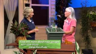Central Florida Gardening-Rain Gauges