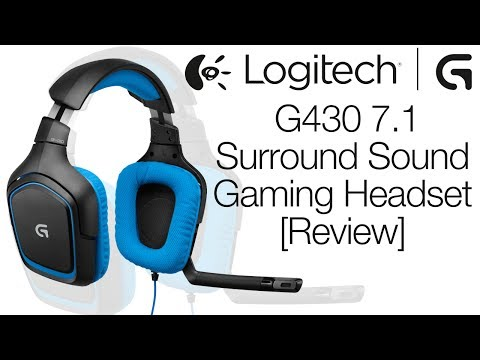Logitech G430 Surround Sound Gaming Headset Review & Mic Test!