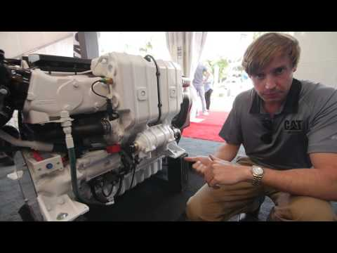 Cat® C7.1 Marine Propulsion Engine Walkaround
