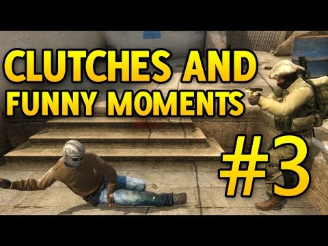 CSGO Clutches and Funny Moments Part 3 Thanksgiving and XFactor Auditions