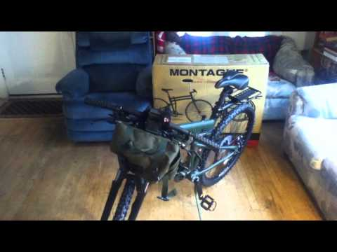 Montague Paratrooper - The Ultimate Survivalist Bicycle