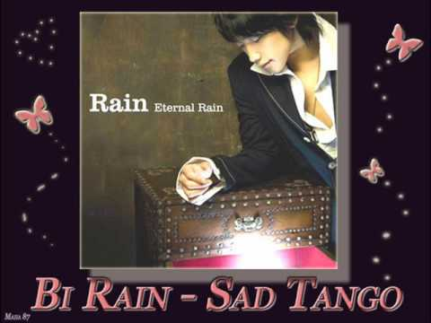 Bi Rain - Sad Tango (English Version + Lyrics on side)