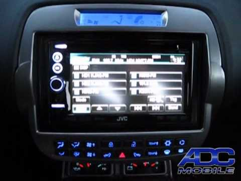 2011 Chevy Camaro With Jvc Kw Nt3hdt Amp Kenwood Backup