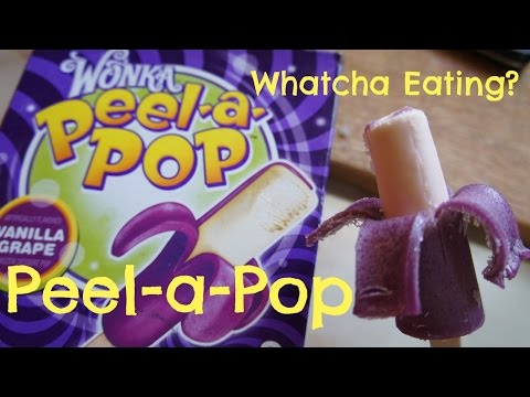 Wonka Peel-A-Pop Tasting - Whatcha Eating? #147