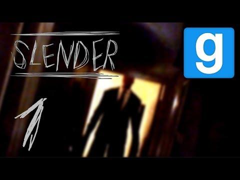 Slender Mod - ОТ ЛИЦА СЛЕНДЕРА! Пугаем друзей xD - Garry's Mod