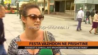 Prishtina, në festë edhe të mërkurën - Top Channel Albania - News - Lajme