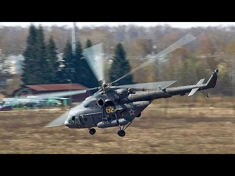 16 missing after Russian helicopter crash