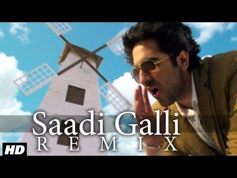 Saadi Galli Aaja Nautanki Saala Video Song (Remix) ★ Ayushmann Khurrana, Pooja Salvi