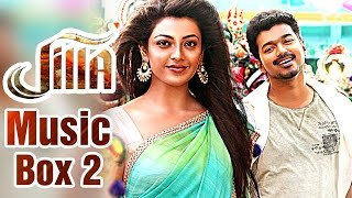 Jilla - Jilla - Tamil Movie 2014 | Audio Music Box #2 | Vijay | Mohanlal | Kajal Aggarwal | Imman