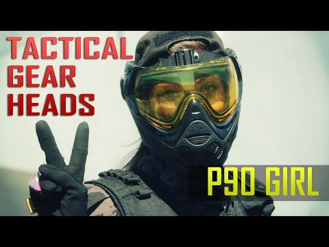 TACTICAL GEAR HEADS: Aleeia Marcelo AKA P90 Girl - Airsoft GI