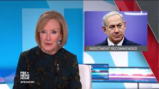 News Wrap: Israeli police say Netanyahu should face corruption charges