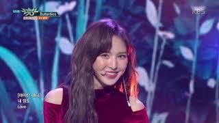 뮤직뱅크 Music Bank Butterflies 레드벨벳 Red Velvet 20181130