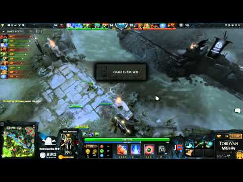 DK vs Vici Gaming Game 5 - SinaCup China Dota 2 Grand Final - TobiWan & MiSeRy