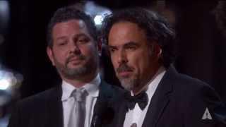 """Birdman"" winning Best Original Screenplay"