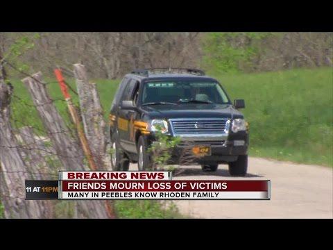 Rhoden family massacre: Killings stun small community in Pike County, Ohio