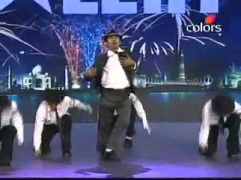 Micheal Jackson Dance On Marathi Song India Got Talant] From Santosh Bahekar Flv video