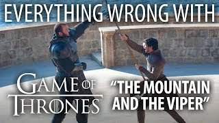 "Everything Wrong With Game of Thrones ""The Mountain and the Viper"""