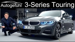 all-new BMW 3-Series Touring REVIEW Exterior Interior 2020 3 Series Estate - Autogefühl