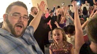 CRINGIEST DAD EMBARRASSES DAUGHTERS AT SCHOOL DANCE!