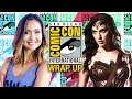 New WONDER WOMAN is a Must See! Comic Con Day 3 - Nerdist News @ SDCC
