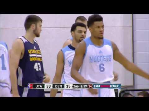 Utah Jazz vs Denver Nuggets | July 14, 2016 | NBA Las Vegas Summer League 2016