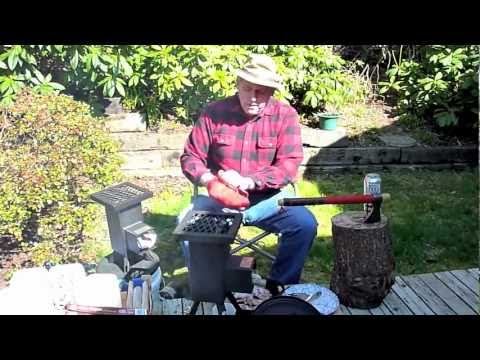 DEADWOOD STOVE Outfitter's Wilderness Dream Stove -- Venison Steaks.mov