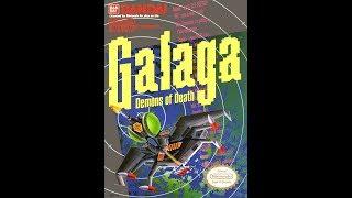 Nintendo NES gameplay 🔵 Galaga 🔴