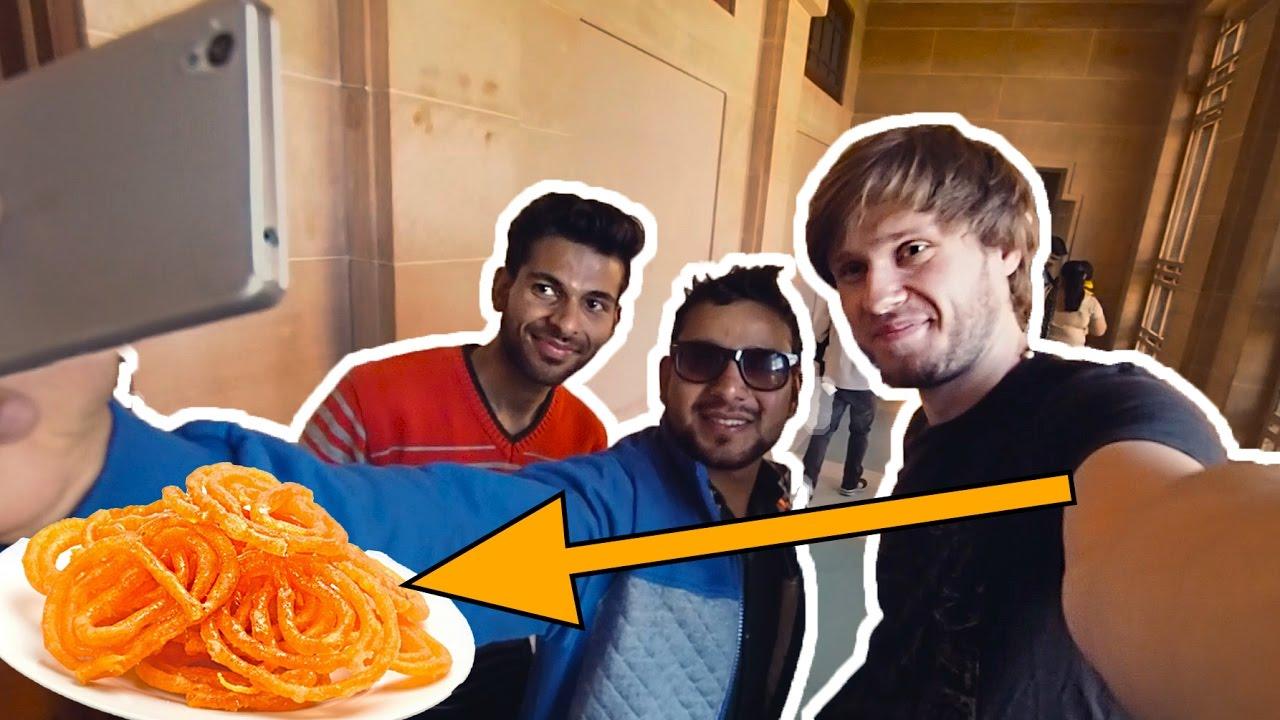 Indyjskie słodycze, zgubiony bilet i SELFIE - INDIE VLOG #4 - Kołem Się Toczy