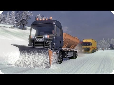 ETS2 Winter Edition +Download (Euro Truck Simulator 2) (part1)