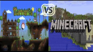 Terraria VS Minecraft