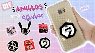 DIY K-POP : Haz tus propios anillos para celular (accesorios) de tus grupos favoritos
