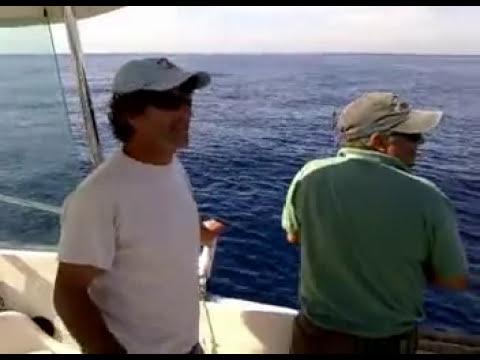 Toda una jornada de pesca al vivo (Completo)