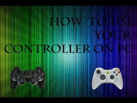 How to use your xbox/ps3 controller on your pc with ds3 tool