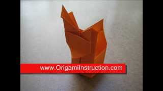 How To Make An Origami Reindeer Box