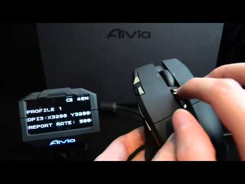 Gigabyte Aivia Uranium Wireless Gaming Mouse and Macro Station Review
