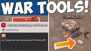 WAR TOOLS! UPDATE! ☆ Clash of Clans ☆ CoC
