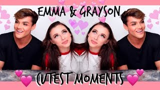 emma chamberlain and grayson dolan cutest moments