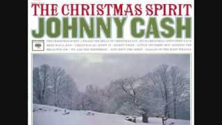 Watch Johnny Cash The Christmas Spirit video